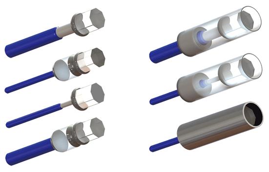 Fiber S200法珀腔医疗压力传感器